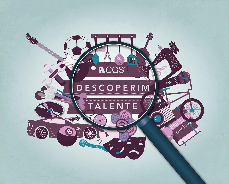 Design macheta talente cgs