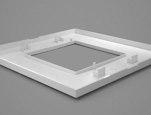 Film animatie 3D prezentare carcasa intrerupator