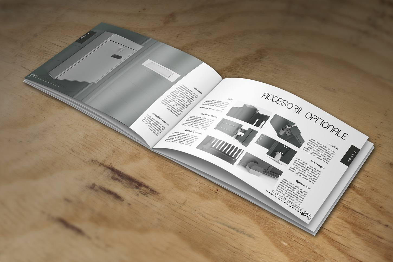 Design brosura Paper-Town, porti si garduri din aluminiu
