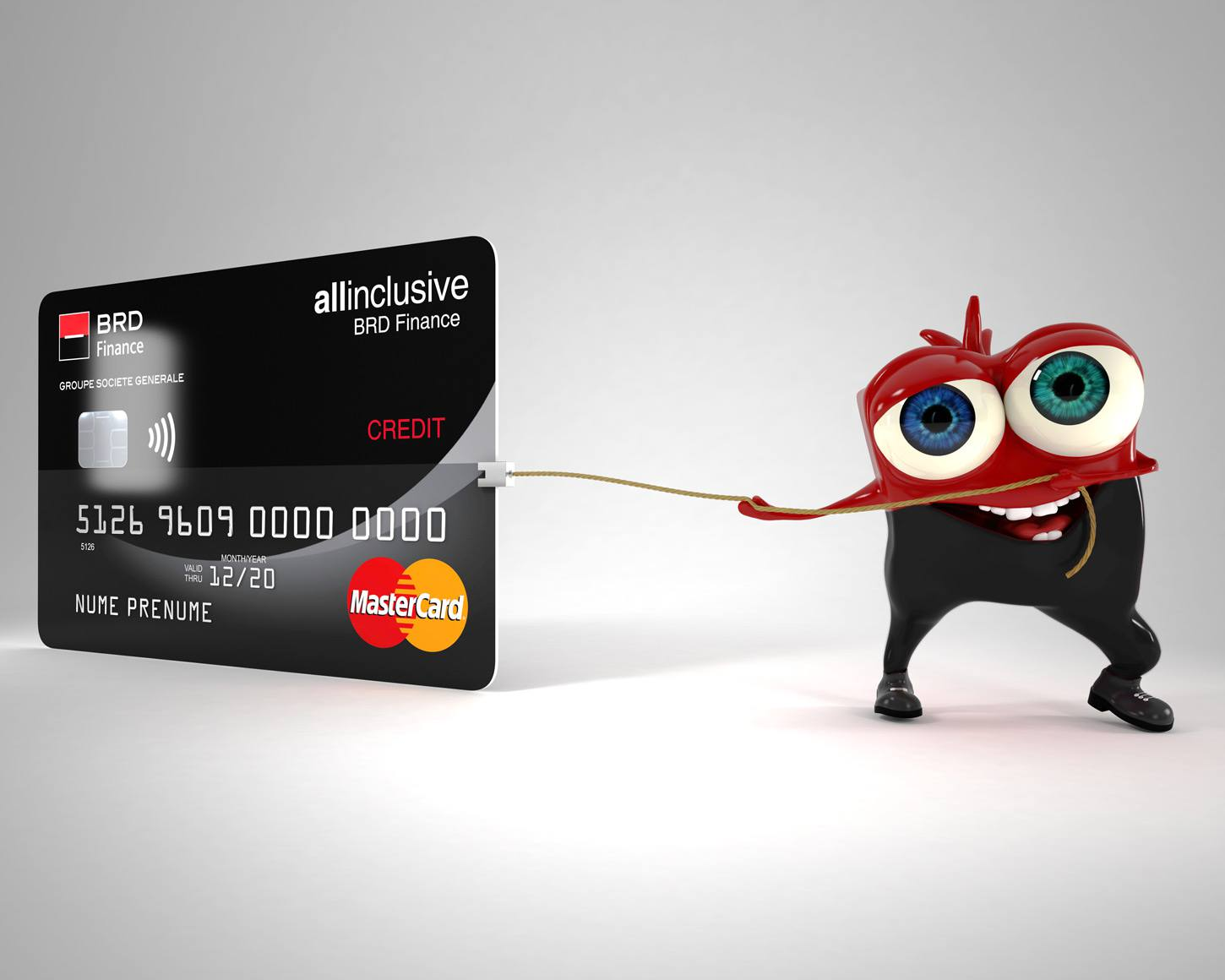 Campanie mascota BRD Finance -AllInclusive